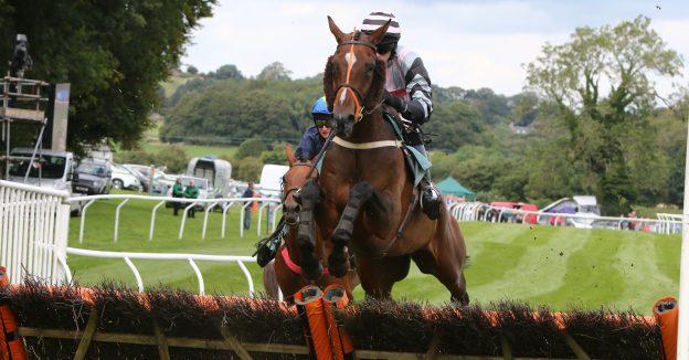 Cartmel Races horse jump