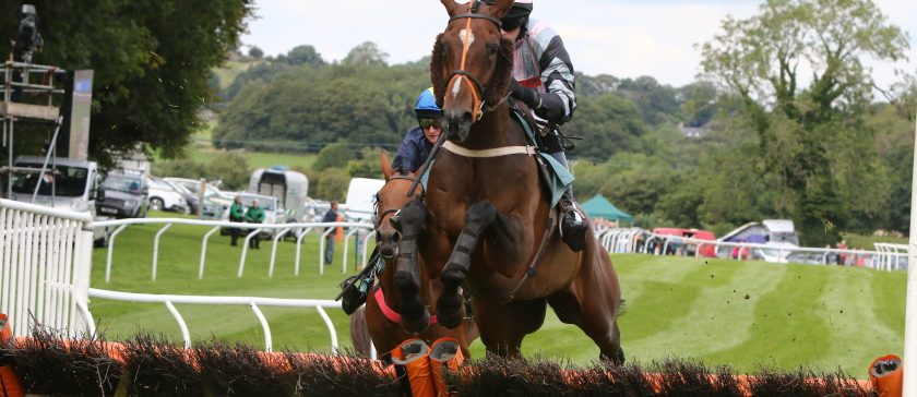 Cartmel Races horse jump