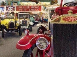Vintage cars in the Lakeland Motor Museum