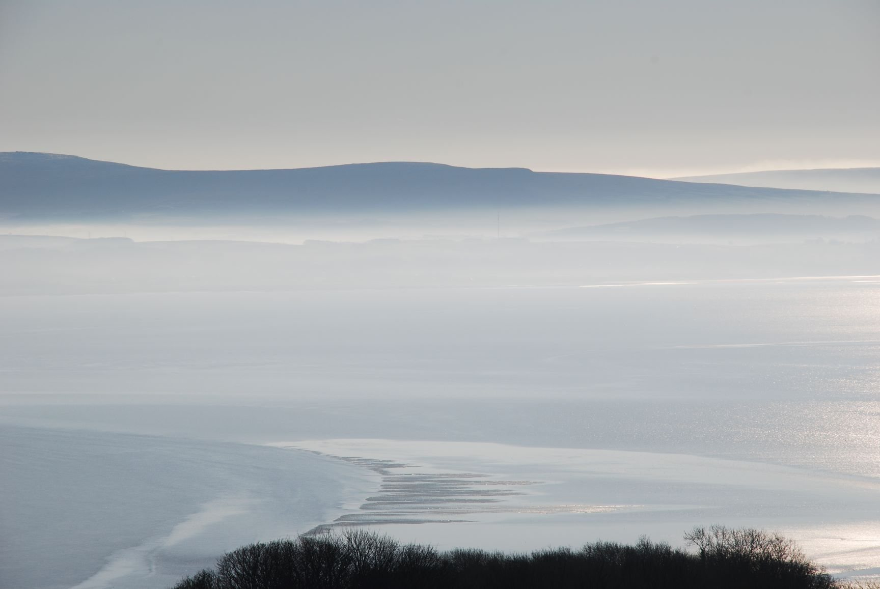 Misty Morecambe Bay