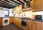 The kitchen at Bridgelands Cottage