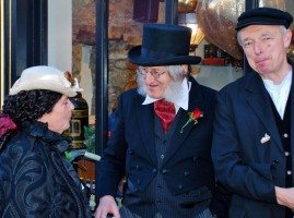 Image of three Dickensian characters