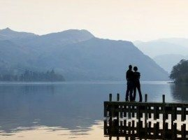 A Romantic couple at Ullswater
