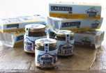Jars of Cartmel Sticky Toffee sauce