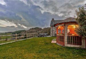 A winter's evening at Cartmel Hill