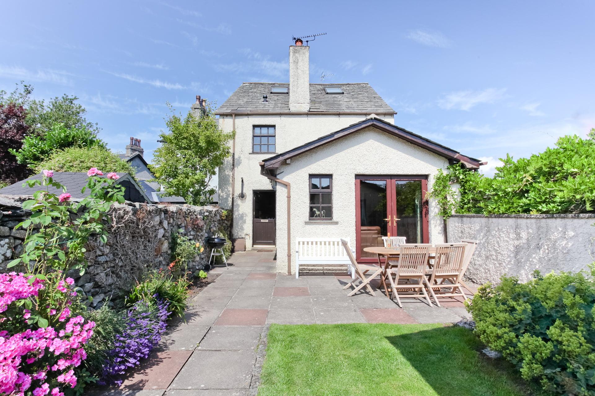 Bridgelands Cottage in summer 2021