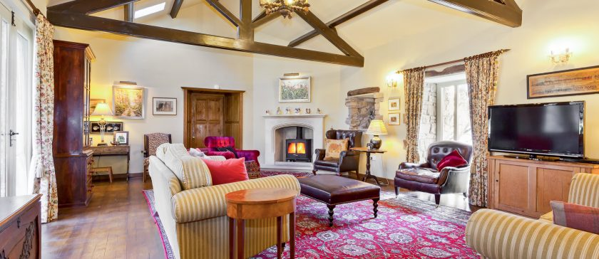 New image of the Sitting Room at Rose farm