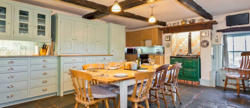 New image of the kitchen at Rose Farm