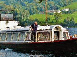 The Coniston Steam Gondola