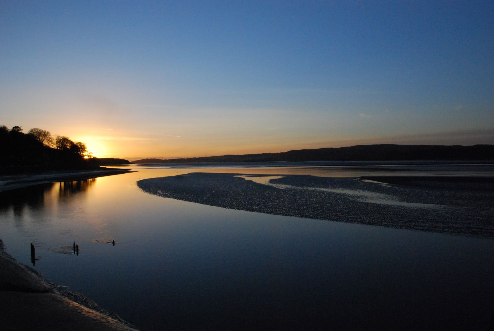 Sunset at Arnside
