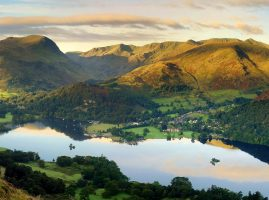 UNESCO World Heritage site, Ullswater in the Lake District