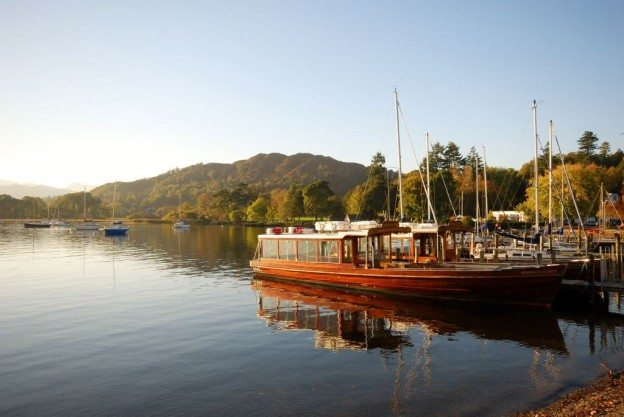 View of Lake Windermere from Waterhead