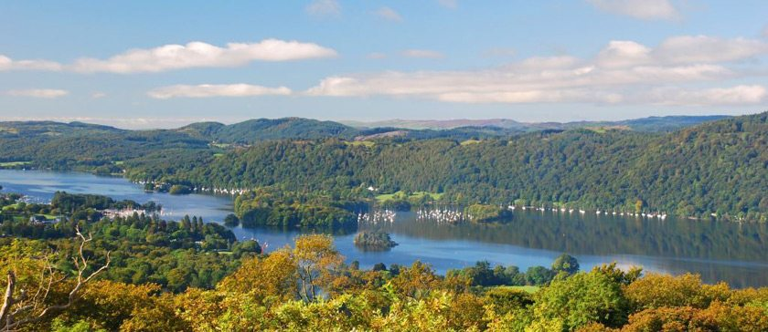 A view of Lake Windermere