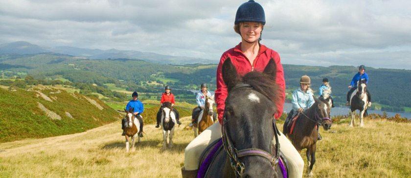 Pony Treking in the Lake District