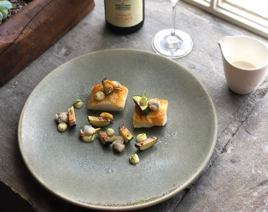 Michelin starred Food at Rogan & Co.