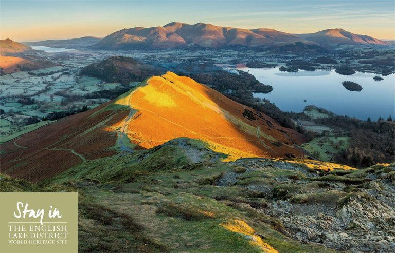 Catbells in the Lake District in autumn