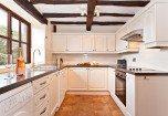 Luxury kitchen in Carree Cottage