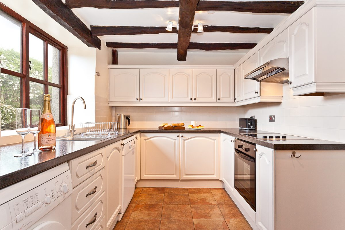 Luxury kitchen in Carree Cottage