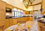 The large kitchen at Cartmel Hill