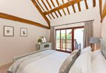 King Size bedroom and the veranda