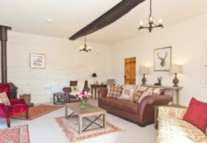 The Large Sitting Room at Charcoal House