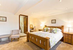 Large Downstairs En-Suite Bedroom at Cartmel Hill