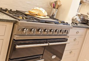 The Large Range Cooker in Weavers Cottage