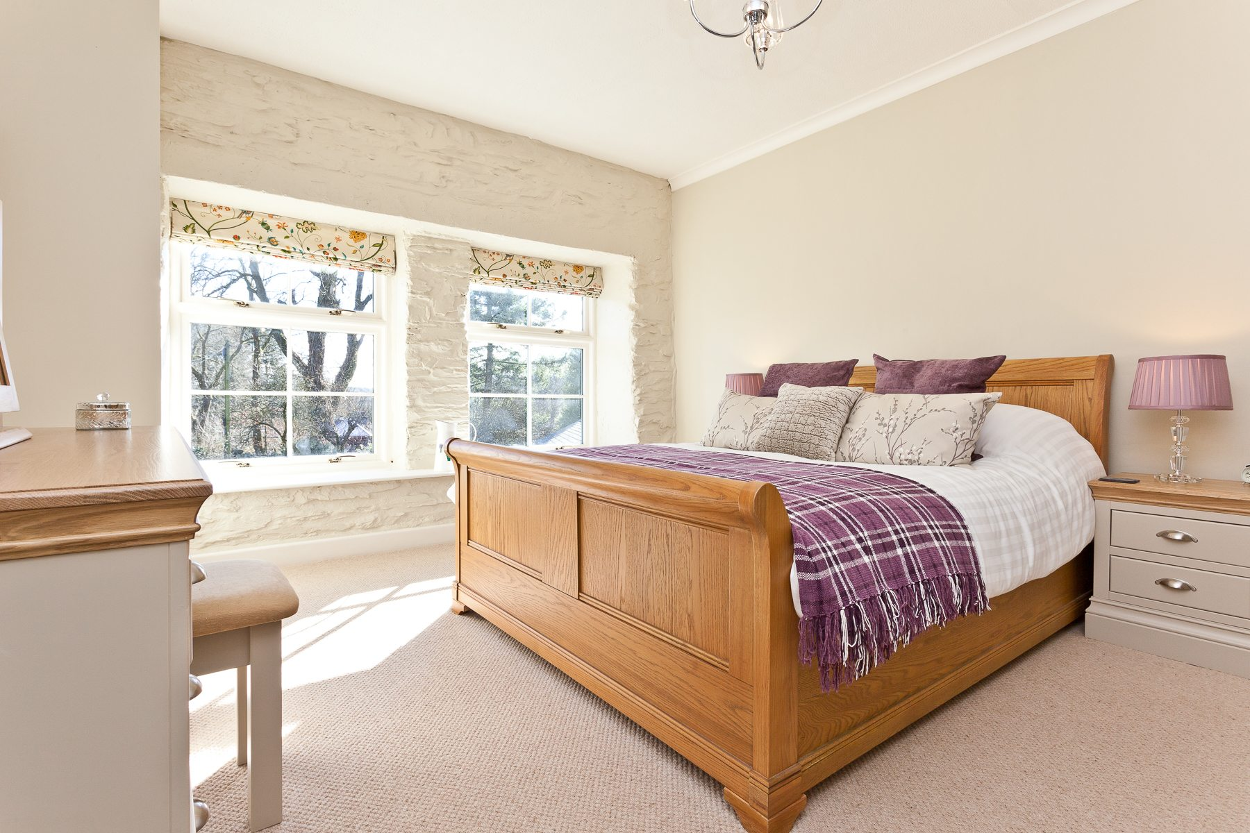 One of the King Size Bedrooms at Charcoal House