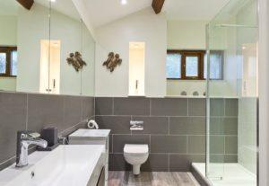 The large Downstairs En-Suite Shower Room