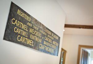 Cartmel Weavers sign