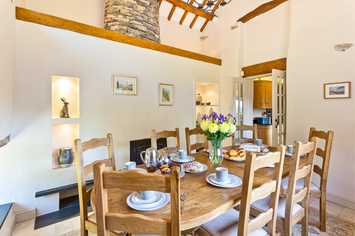 The dining room at Cartmel Hill