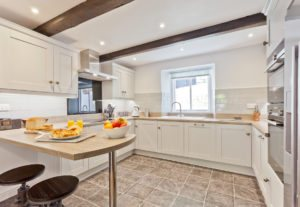 The Large open plan Kitchen
