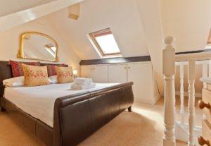 Super king sized main bedroom in bridgelands Cottage