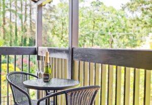 The Sunny Balcony